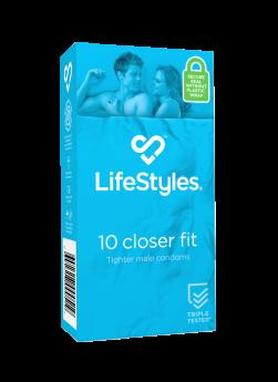 LifeStyles !0 Closer Fit Condoms