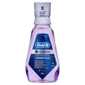 ORAL B CLINICAL RINSE 500ML