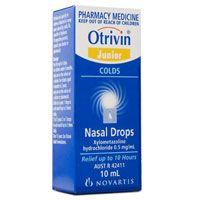 Otrivin Nasal Drops 10ml Child