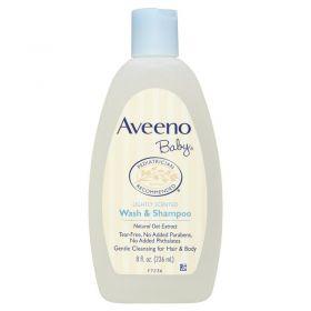 Aveeno Baby Wash & Shampoo 236ml