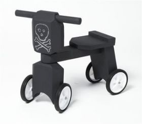 "TAIKA """"The Grizzly"""" Bike in Sea Monster Chalkboard Paint"
