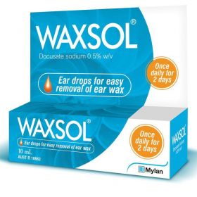 WAXSOL EAR DROPS 5% 10ML