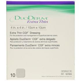 DuoDERM Extra Thin Dressing 10cmx10cm