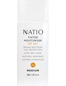 Natio Tinted Moisturizer SPF 50+