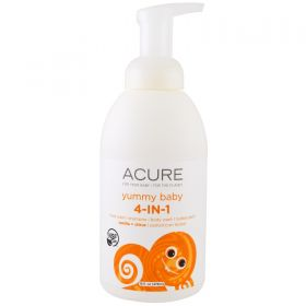 Acure Yummy Baby 4 in 1 Foamer (Vanilla and Citrus)