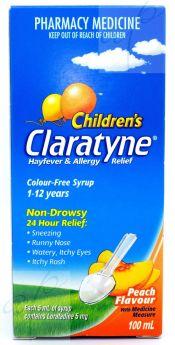 Claratyne Children's Syrup 100ml
