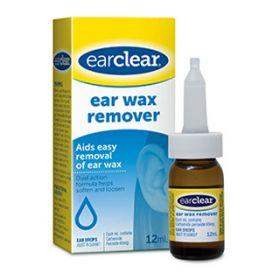 EAR CLEAR WAX REMOVER 12ML