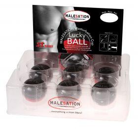 MALESATION Masturbation Cup - Lucky Ball (6er Display) - 680000040402