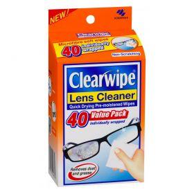 CLEARWIPE LENS CLEAN 40PK CTN6