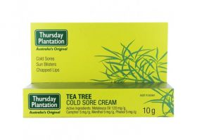 Tea Tree Cold Sore Cream 10g - TTCOLDS Thursday Plantation
