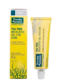 Tea Tree Medicated Gel For Acne 25g - TTACGEL Thursday Plantation