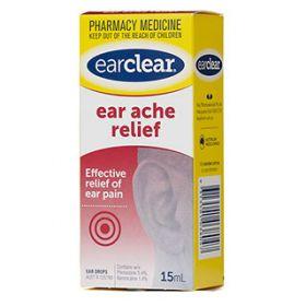 EAR CLEAR EAR ACHE RELIEF 15ML