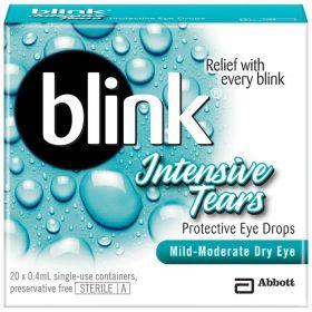 BLINK INTENSIVE TEARS 20 VIALS