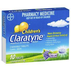 Claratyne Children's Chewable 10 Tablets