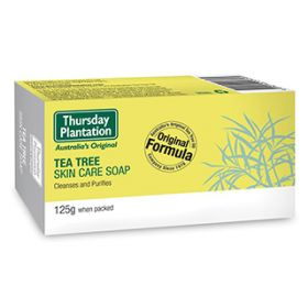 Tea Tree Soap 125g - TTSO125 Thursday Plantation