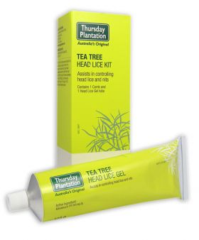 Tea Tree Head Lice Gel 125g Kit - TTHL125 Thursday Plantation