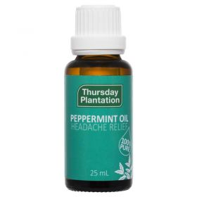 Peppermint Oil Aroma 25ml - TTPEP25 Thursday Plantation