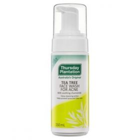 Thursday Plantation Tea Tree Face Wash for Acne 2 Pack - TTAFW2PK