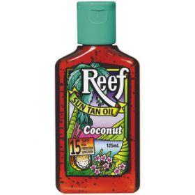 Reef Dark Sun Tan Oil SPF 15+ Coconut - 125mL
