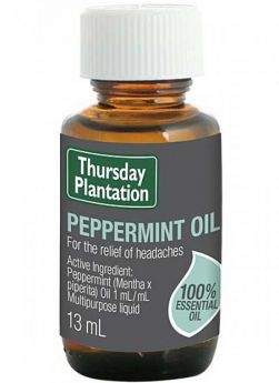 Peppermint Oil 13ml - TTPEP13 Thursday Plantation