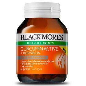 Blackmores Curcumin Active + Boswellia X 60Capsules