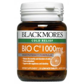 Blackmores Bio C 1000mg 31 Low Acid Tablets