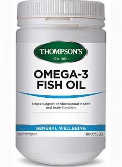 Fish Oil 400 Capsules - TMFISH4 Thompson's