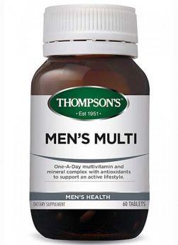 Men's Multi 60 Tablets - TMMENMU Thompson's
