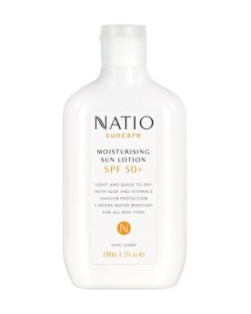 Natio Moisturising Sun Lotion SPF 50+ 200mL