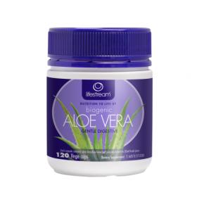 Lifestream Biogenic Aloe Vera 120 Capsules - LMBAV120