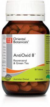 Oriental Botanicals AntiOxid 8 x 50 Tabs