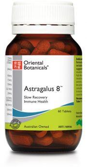 Oriental Botanicals Astragalus 8 60 Tablets