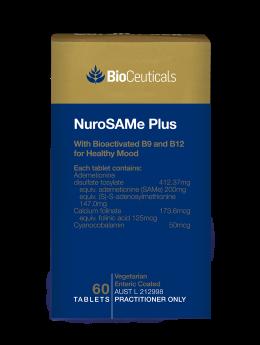 Bioceuticals NuroSAMe Plus x 60 tabs
