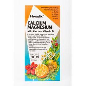 Floradix Calcium Magnesium 500ml - FLCM500