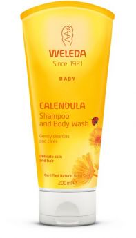 Weleda Baby calendula shampoo and body wash 200 ml