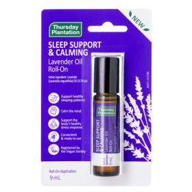 Thursday Plantation Lav Sleep Support & Calming Roll On 9ml - TTLAVRO9