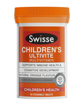 Swisse Childrens Ultivite Multivitamin X 120 Chewable Tablets