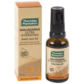 Thursday Plantation Macadamia Daily Face Oil 30ml - TTMUHFO30