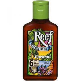 Reef Deep Sun Tan Oil SPF 6+ Coconut - 125ml