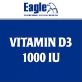Eagle Vitamin D3 1000IU x 240 Capsules