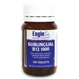 Eagle Siblingual B12 1000 x 100 Tablets