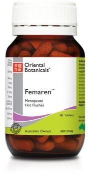 Oriental Botanicals Femaren x 120 Capsules