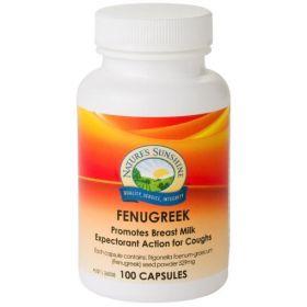 Nature's Sunshine Fenugreek 529mg 100 Capsules - NSP17078