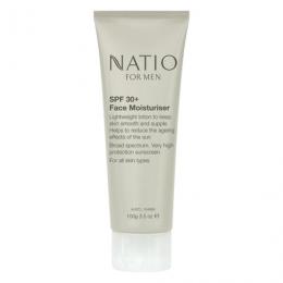 Natio SPF 30+ Face Moisturiser for Men 100g