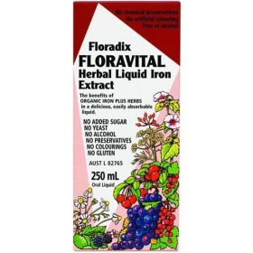 Floradix Floravital Iron+ 250ml - FLFLOR2