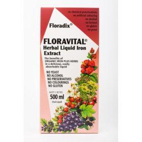 Floradix Floravital Iron+ 500ml - FLFLOR5