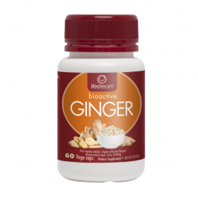 Lifestream Bioactive Ginger 60 Capsules - LMBAG60