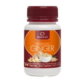 Lifestream Bioactive Ginger 30 Capsules - LMBAG30