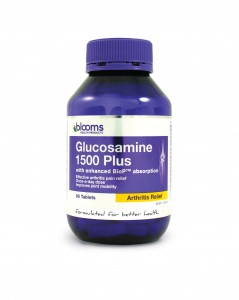 Blooms Glucosamine 1500 Plus (with enhanced BioP) tablets 180 Caps