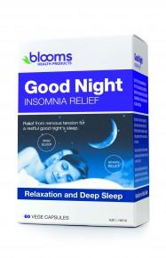 Blooms Good Night Insomnia Relief capsules  60 Caps